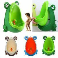 Frosch Töpfchen Toilette Kinder Urinal für Jungen Training Badezimmer Pee n M8S7