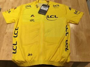 Tour de France 2018 Replica Jersey Empire Yellow - Child size aged 14 years of a