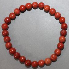 "Bracelet Jaspe rouge 6 mm ""Médium"""