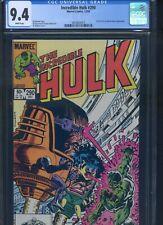 Incredible Hulk #290 CGC 9.4 1st & only App. of Kate Waynesboro as Female MODOK