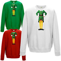 Elf Body Sweatshirt - Cute Christmas Humour Funny Buddy Festive Gift Jumper Top