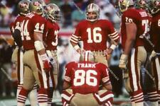 MD847 Joe Montana San Francisco 49ers Football 8x10 11x14 16x20 Photo
