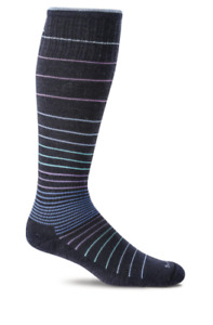 Sockwell Women's Circulator Moderate Graduated Compression Socks   S/M  Navy NWT
