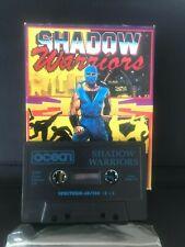 ZX Spectrum Computer Game - Shadow Warriors - Ocean Big Box - Rare!