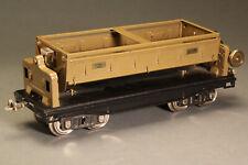 Lionel Dump car #218, Standard Guage Car, Mojave paint Scheme, EXC