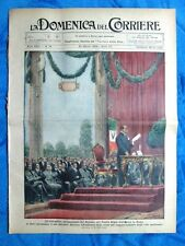 La Domenica del Corriere 24 marzo 1929 Mussolini - Bonnie Gray - Antico Egitto