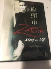 Zatoichi - Mort ou Vif - French DVD Region 2 japonais / francais