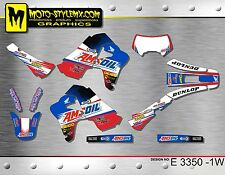 Honda XR 650R graphics decals kit  Moto-StyleMX