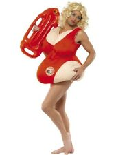 Baywatch Adult Unisex Smiffys Fancy Dress Costume