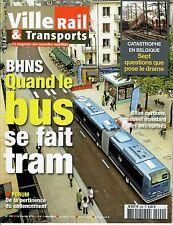 Ville Rail & Transports n°490 - BNHS, Cadencement, Eurostar, etc. (24/02/2010)