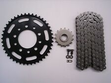 HONDA CBR600F HURRICANE SPROCKET & O-RING CHAIN SET 15/44 1987 - 1990 BLK