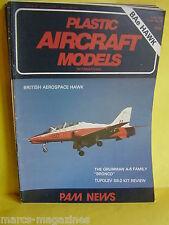 PAM PLASTIC AIRCRAFT MODELS JUNE 1979 # 29 BAE HAWK GRUMMAN BRONCO TUPOLEV SB2