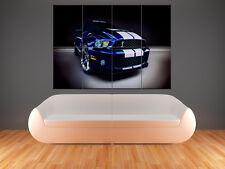 Shelby Mustang GT 500 GIGANTI stampa foto poster Arte
