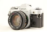 【 EXC+5 】 CANON AE-1 35mm SLR Film Camera + FD 50mm f/1.4 S.S.C Lens from JAPAN