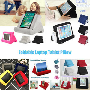 Fold Tablet Cooling Pad Reading Pillow Cushion Holder Tablets Lap Stand For
