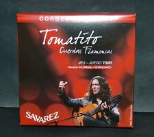 SAVAREZ TOMATITO T50R JEU DE CORDES FLAMENCO TENSION STANDARD NEUF