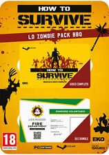 How To Survive Lo Zombie Pack BBQ Spotlight Pack PC IT IMPORT 505 GAMES