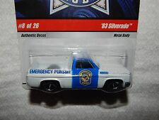 Hot Wheels '83 Silverado Cop Rods #8 of 26 - 2008 - New in Package
