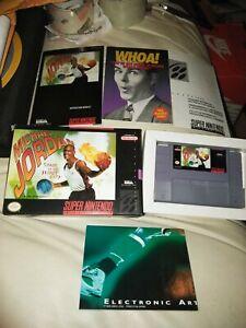 Michael Jordan: Chaos in the Windy City (Super Nintendo Entertainment System,...
