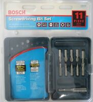 BOSCH CC60395 11 Piece Screwdriver Bit Set