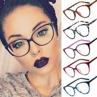 NEW Women Cat Eye Frame Clear Lens Ladies Glasses Retro Vintage Eyeglasses Lady