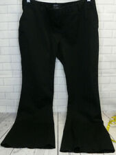 Body by Victoria Women's Pants The Kate Fit Black Size 12 Bootcut Cotton
