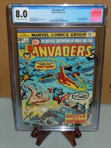 Invaders #1 CGC 8.0 VF Marvel Comics 1975 Greatest Superheroes of World War Two