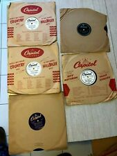 D.J. Sample 78 rpm Records Connie Russell, Jane Russell, Bob Hope