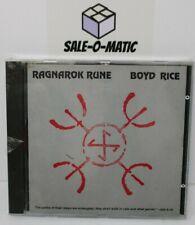 BOYD RICE - RAGNAROK RUNE CD 1993 (UK)