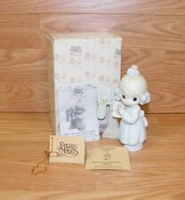 """Precious Moments (C0011) """"Sharing the Good News Together"""" Figurine w/ Box & Tags"""