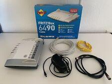 AVM Fritzbox 6490 Cable silber/grau Unitymedia/Vodafone