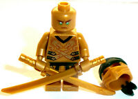 Lego Minifig Lloyd x 1 Golden Ninja & Swords (Legacy) from Ninjago Set 70666