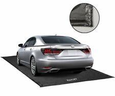 Hanjet Garage Floor Mat for Car, Containment Mat Black for Snow, Mud, Rain (7ft
