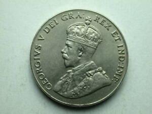 Canada 1927 King George 5 Cents AU-Unc
