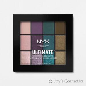 "1 NYX Ultimate Multi Finish Shadow Palette - Eye "" USP07 Smoke Screen "" *Joy's*"