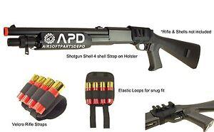 Double Eagle M56 Shotgun Airsoft 4 Magazine Holder Holster Only NO SHELLS NO GUN