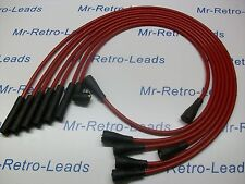 RED 8MM PERFORMANCE IGNITION LEADS TO FIT DATSUN 240Z 260Z QUALITY BUILT LEADS