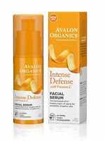 AVALON ORGANICS INTENSE DEFENSE with VITAMIN C FACIAL SERUM 30ml - GMO FREE