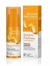 AVALON ORGANICS INTENSE DEFENSE with VITAMIN C FACIAL SERUM 30ml - GMO FREE