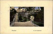GLAUCHAU alte Feldpostkarte Feldpost 1. Weltkrieg gelaufen mit Stempel nach Metz