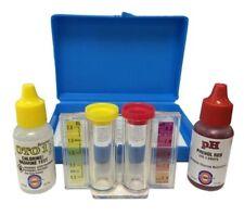 Pentair Rainbow 752 2 In 1 Chlorine Ph Drop Test Kit R151076 Pool & Spa Product