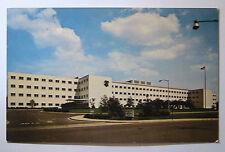 Nashville TN Veterans Hospital Building 24th Ave S Postcard ca1960