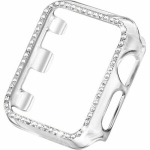 Bling Diamond Protector Bumper Case  PC Cover For Apple Watch Series 7 41/45MM