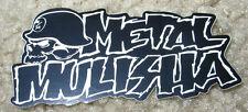 "METAL MULISHA Skull Text Sticker 3"" motocross skateboard bike decal skate"