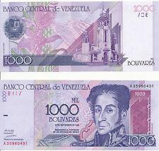 VENEZUELA - 1000 Bolivares 10. 9. 1998 Unc Pick 79