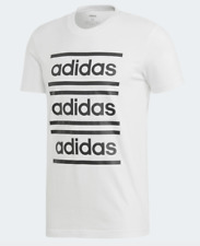 Adidas T Shirts Mens XL White Black Throwback Celebrate the 90s Short Sleeve Tee