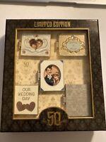 Haunted Mansion 50th Anniversary Wedding Album Box Set Disney Pin LE