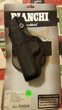 Bianchi Accumold 7500 Black Paddle Holster Size 9 Left Hand Beretta 84, 84F, 85F