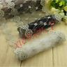 Q04 1 Yard Lace Trim Ribbon Dress Skirt Handicrafts DIY Embroidered Net