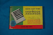 Armed Services Edition Q-9 Selected Short Stories of Sherwood Anderson ASE